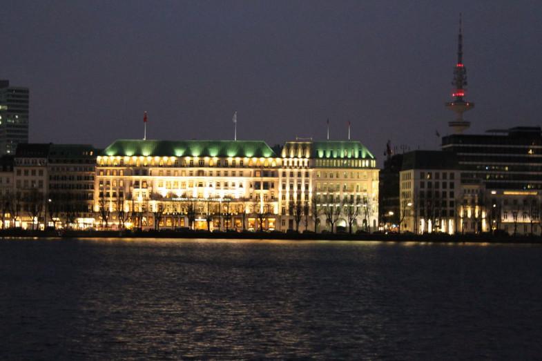 Hamburg Nacht Alster